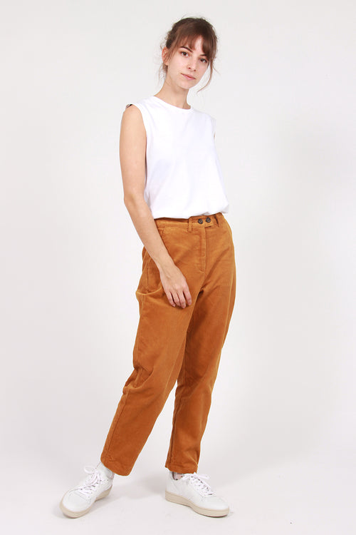 Manchester Cord Pant -  mustard