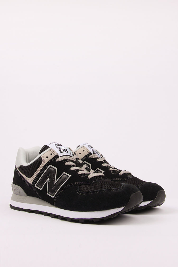 new balance 574 black grey and white nz