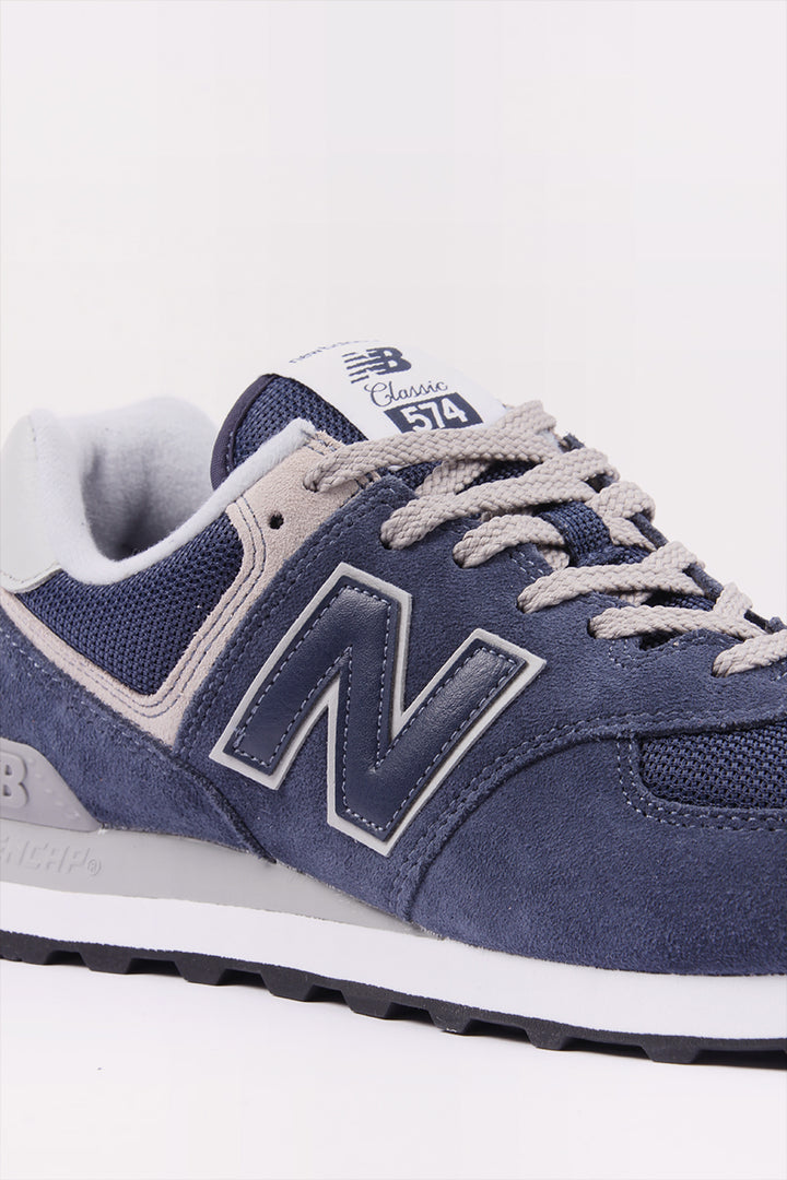 New Balance 574 Classic - navy/grey suede | GOOD AS GOLD | NZ