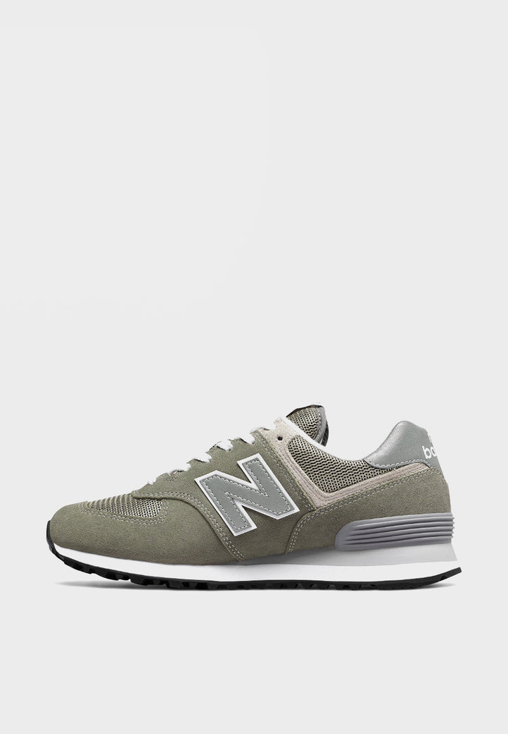 Womens 574 Classic - grey suede/mesh