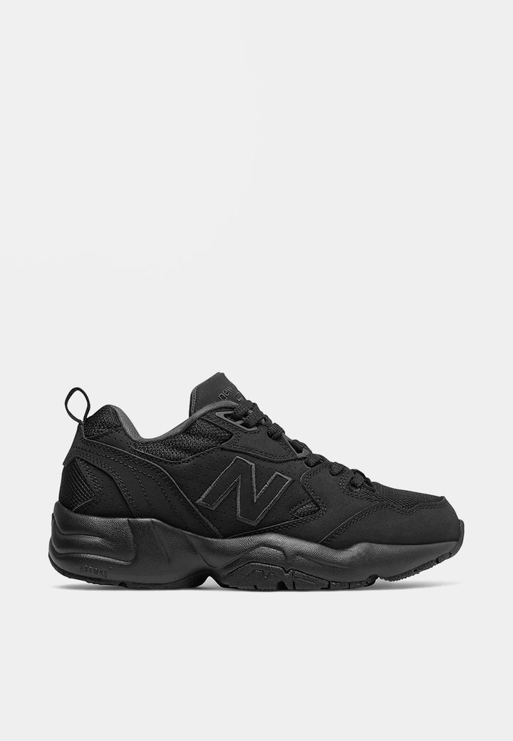 New Balance Womens x708 - triple black leather — Good as Gold