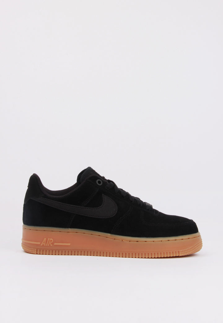 Nike Womens Air Force 1 07 SE - black/gum – Good as Gold