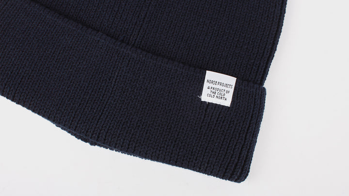 e05e82d20 Norse Projects Cotton Watch Beanie - dark navy – Good As Gold