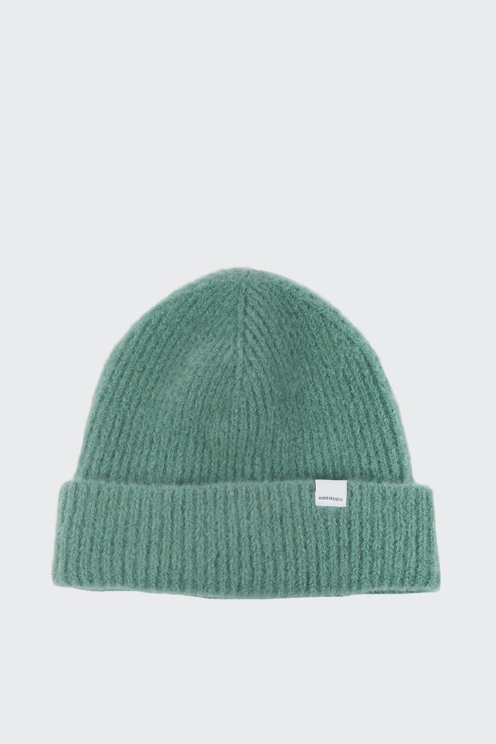 Norse Projects Marta Summer Brush Beanie - pale jade | GOOD AS GOLD | NZ
