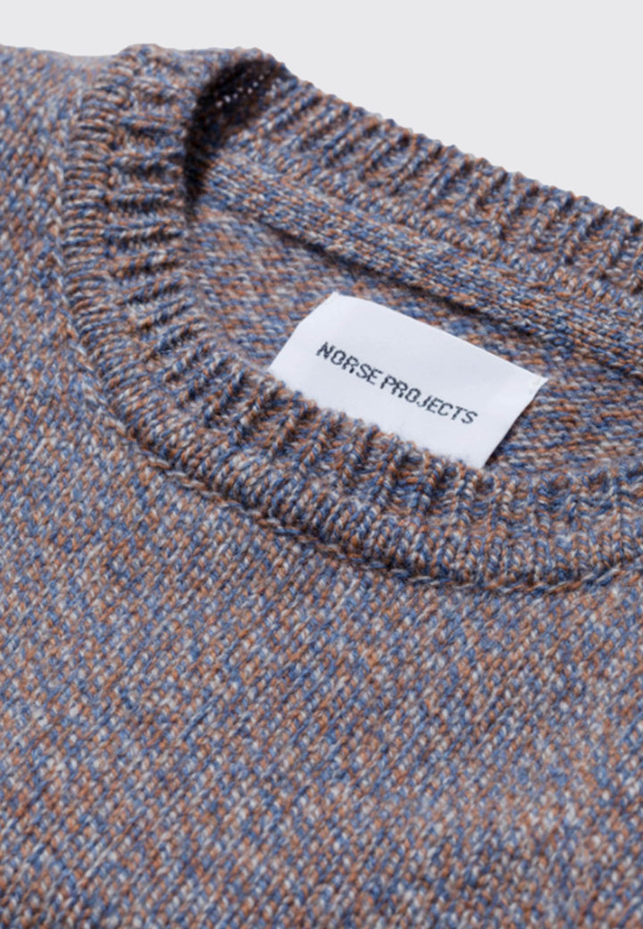 Sigfred Lambswool - scoria blue
