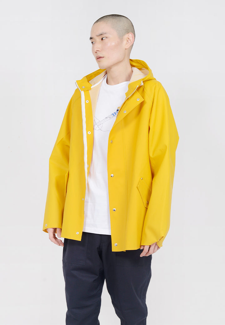 Norse Projects Anker Rain jacket - mustard yellow — Good as Gold