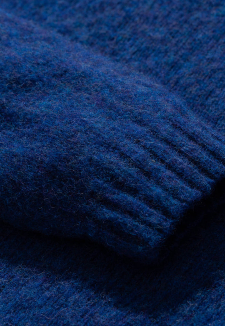 Birnir Brushed Lambswool - twilight blue