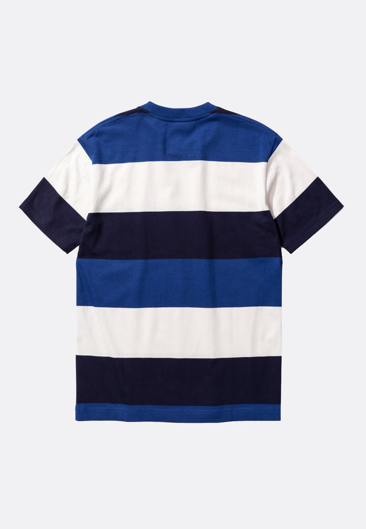 Johannes Border Stripe T-Shirt - twilight blue