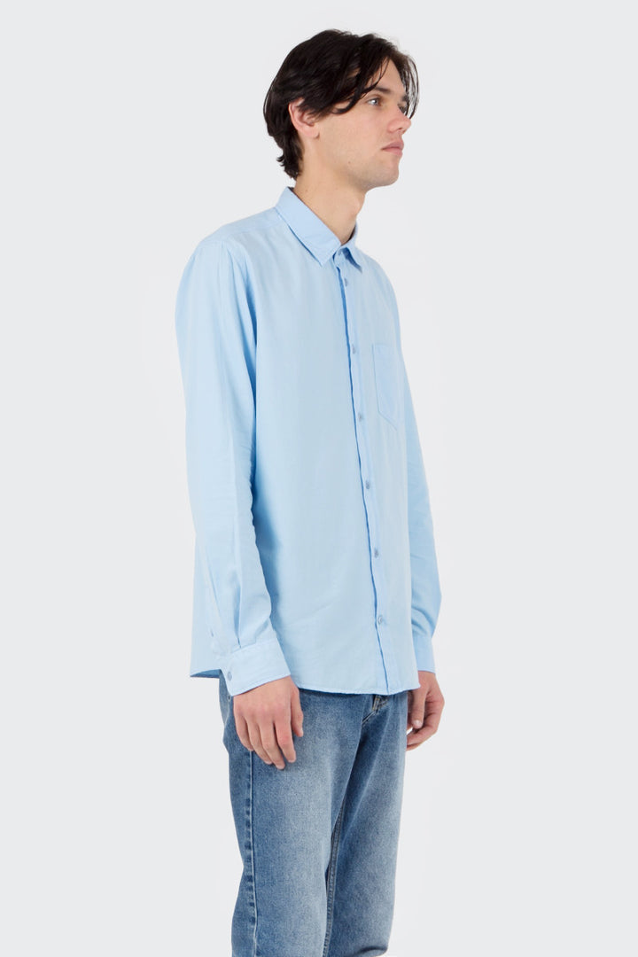 Norse Projects Anton Oxford Overdye Shirt - sky blue | GOOD AS GOLD | NZ