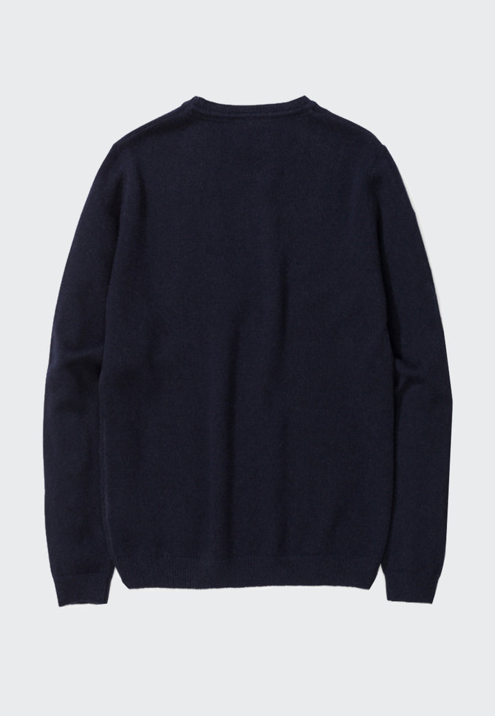 Sigfred Lambswool - dark navy