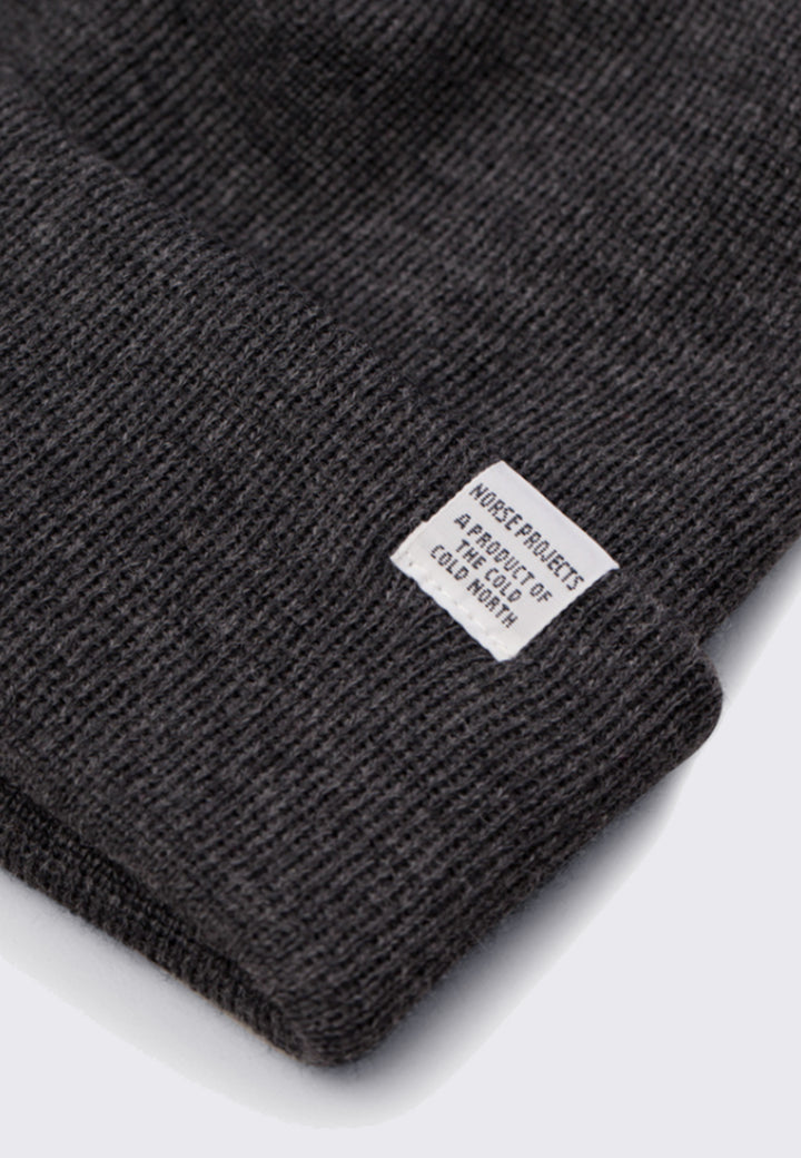 Top Beanie - charcoal melange