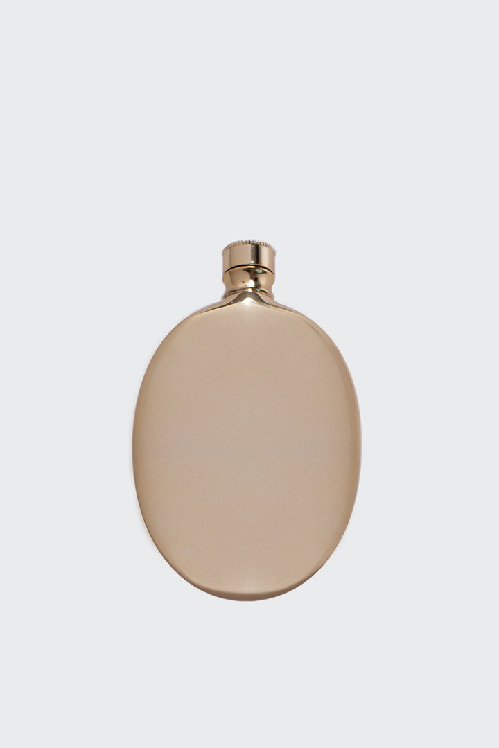 Odeme Oval Flask - gold | GOOD AS GOLD | NZ
