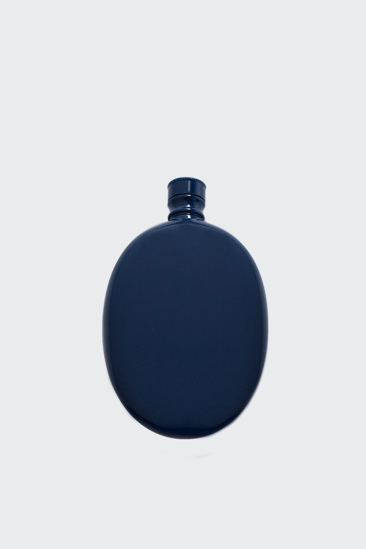 Odeme Oval Flask - navy | GOOD AS GOLD | NZ