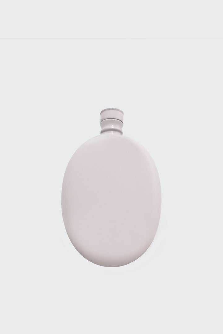 Odeme Oval Flask - white | GOOD AS GOLD | NZ