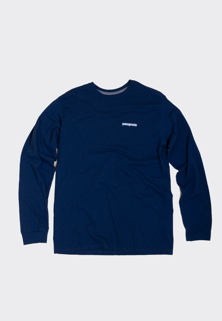 P-6 Logo Responsibili-Tee Long Sleeve - crater blue