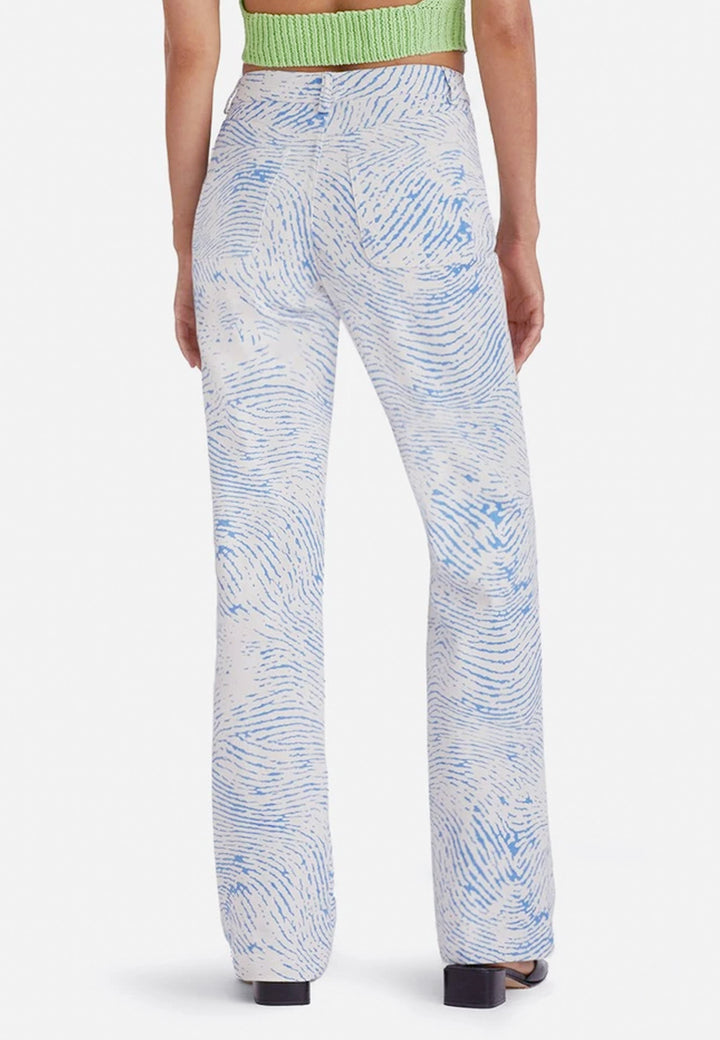 Huella Pants - soft blue