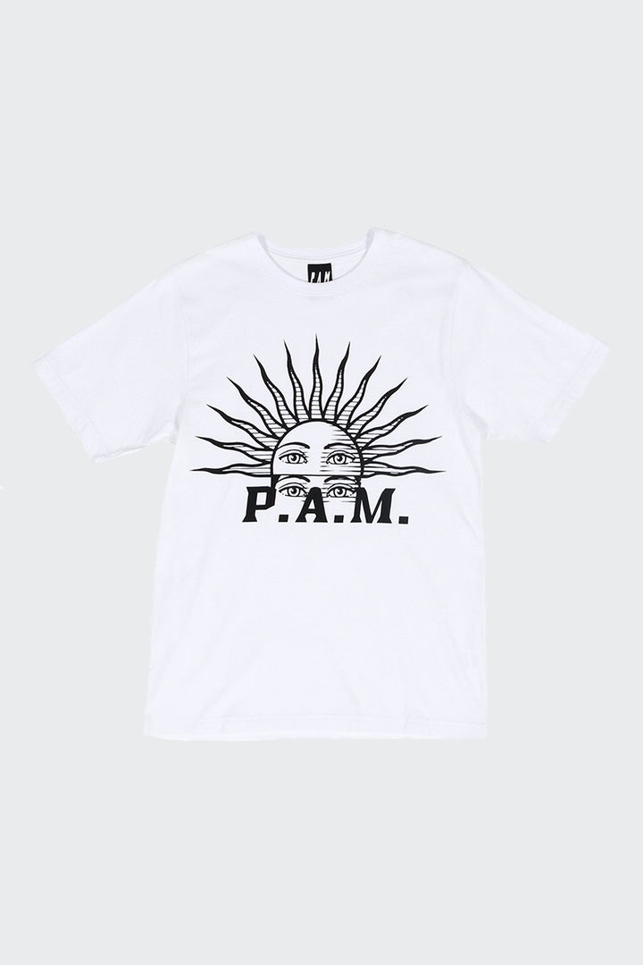 Perks And Mini (PAM) Solaris T-Shirt - white | GOOD AS GOLD | NZ