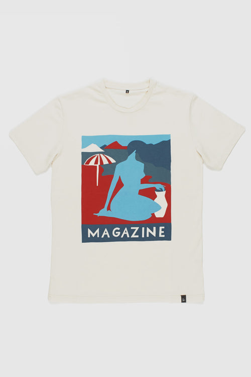 Parra Girl Magazine T-Shirt - natural