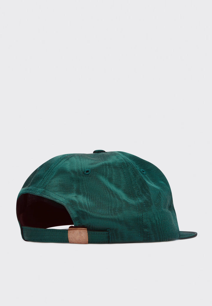 Race Logo 6 Panel Cap - blue spruce