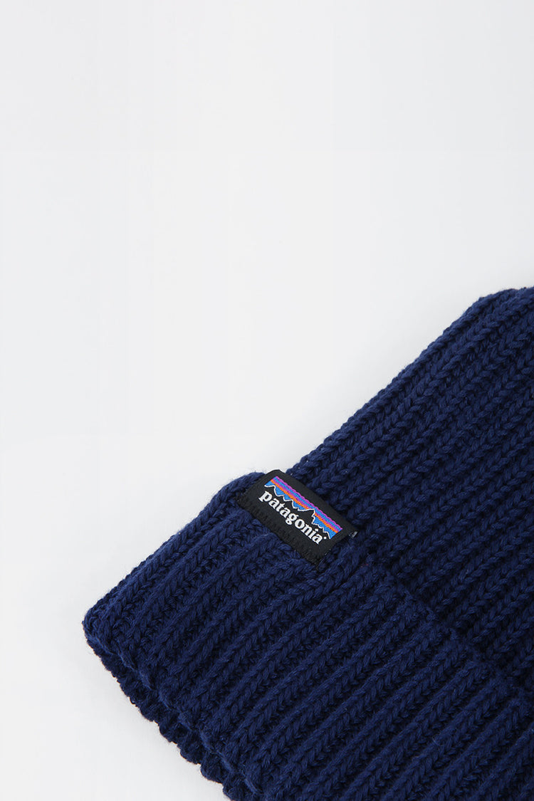 Patagonia Fishermans Rolled Beanie - navy | GOOD AS GOLD | NZ
