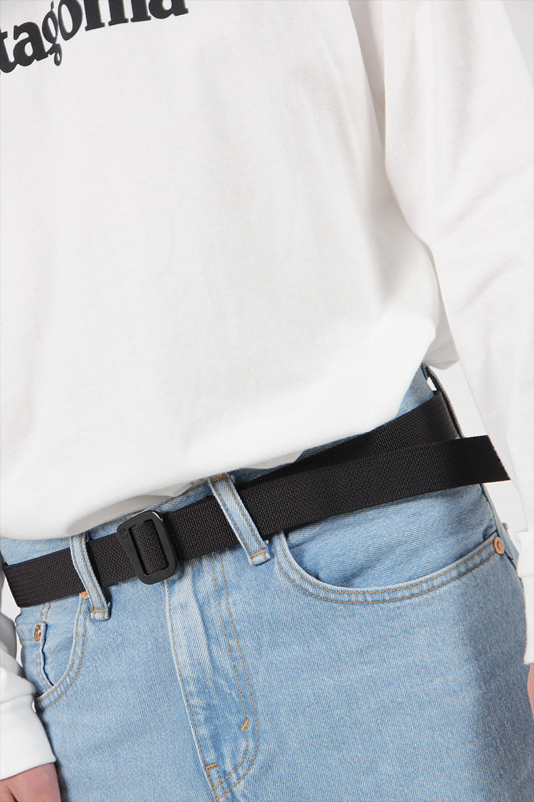 Patagonia Friction Belt - black | GOOD AS GOLD | NZ