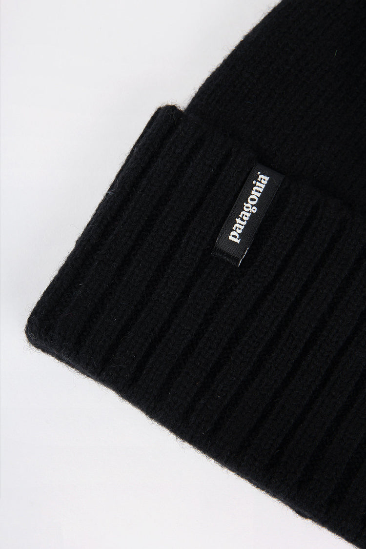 Patagonia Brodeo Beanie - black | GOOD AS GOLD | NZ