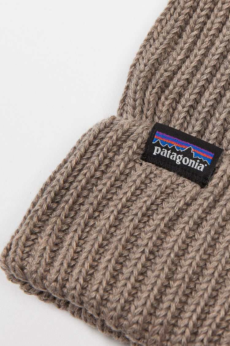 Patagonia Fishermans Rolled Beanie - ash tan | GOOD AS GOLD | NZ