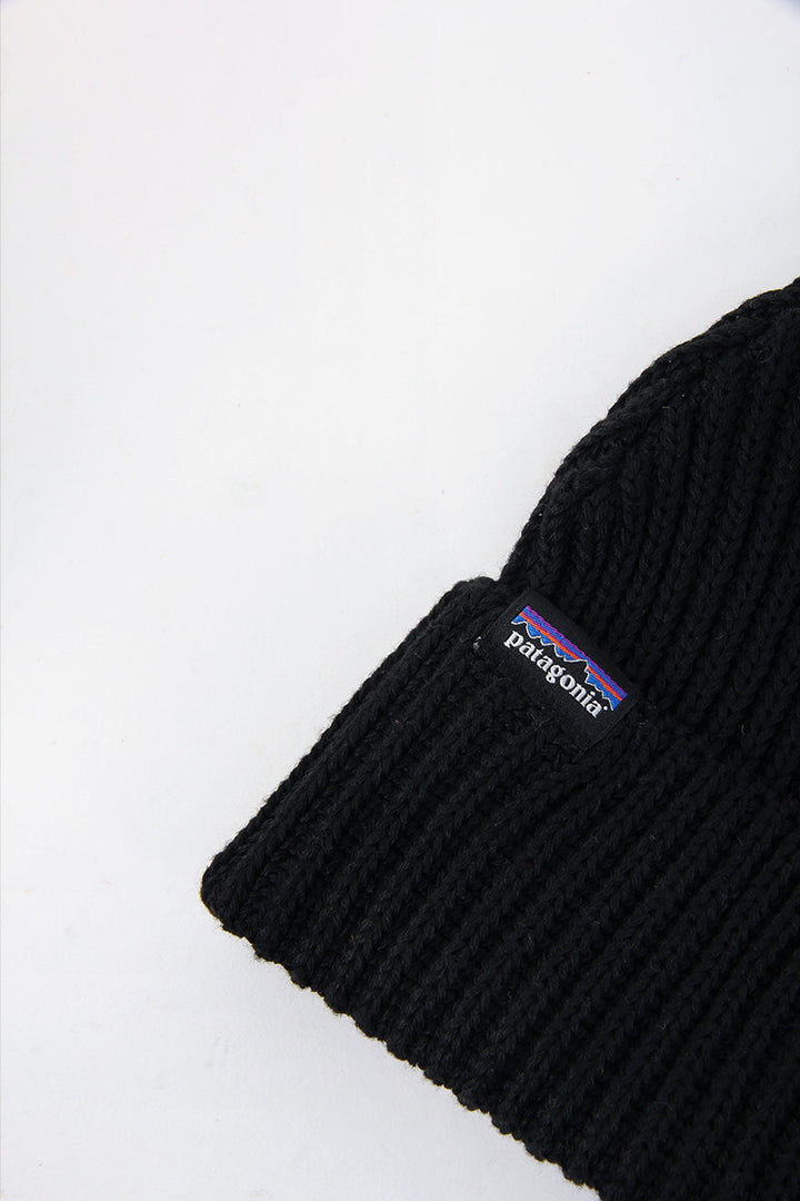 8532f6911d34f Patagonia Fishermans Rolled Beanie - black – Good As Gold