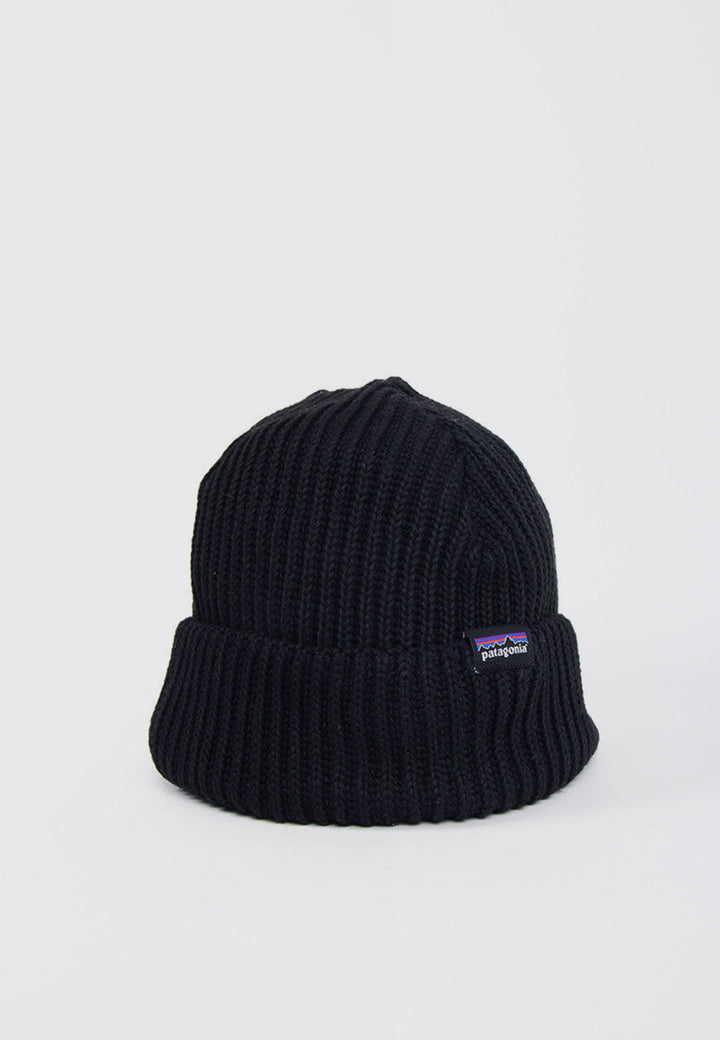 Patagonia Fishermans Rolled Beanie - black | GOOD AS GOLD | NZ