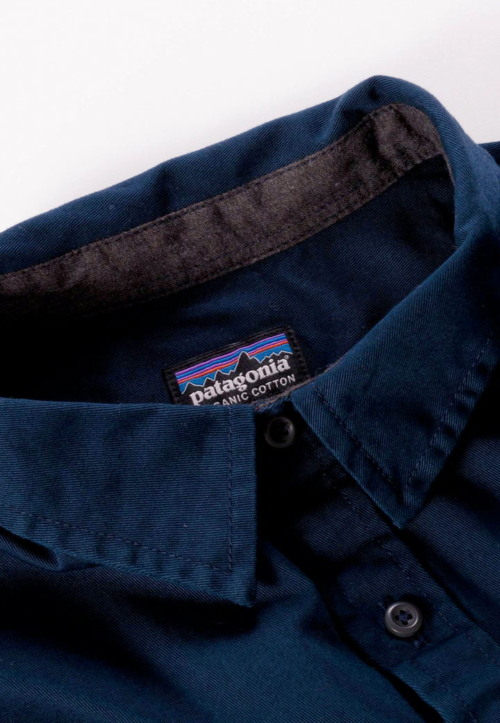 Four Canyons Twill Shirt - navy