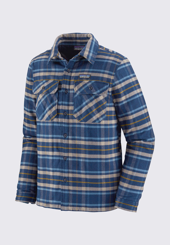 Insulated Fjord Flannel Jacket - independence/new navy
