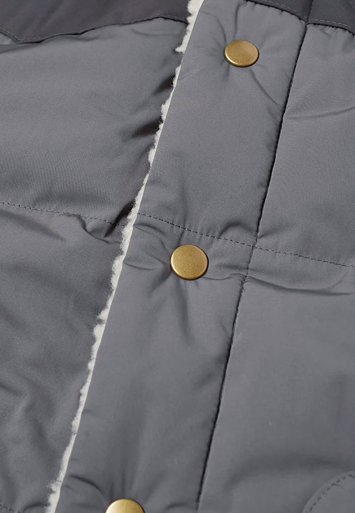 Reversible Bivy Down Vest - forge grey