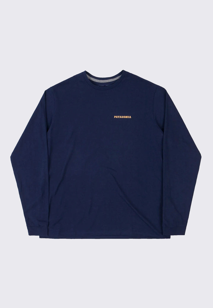 Summit Road Responsibili-Tee Long Sleeve - classic navy