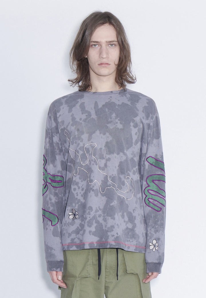 Homepage Oversized Long Sleeve - marble