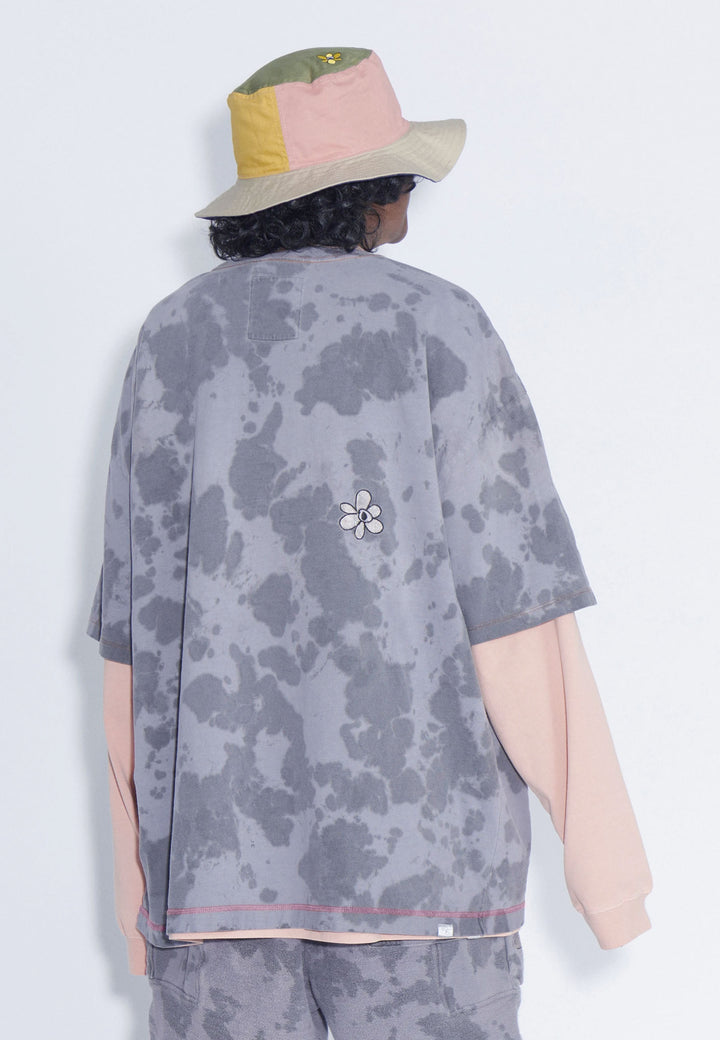 Keep It Ethereal Oversized T-Shirt - marble