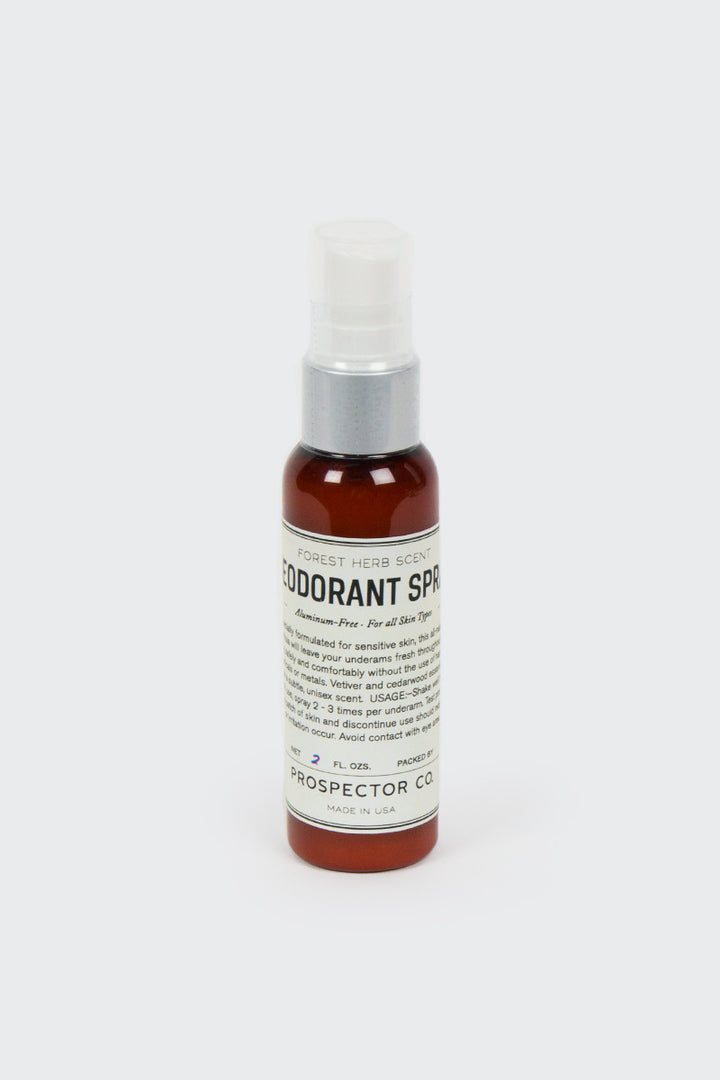Prospector Co, Deodorant Spray - 2 oz | GOOD AS GOLD | NZ