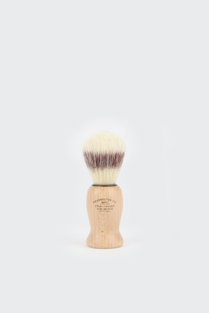 Prospector Co. Pure Bristle Shaving Brush | GOOD AS GOLD | NZ