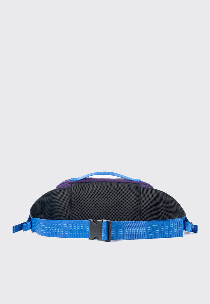 Sherpa Rush Hour Fanny Pack - blue/forrest green