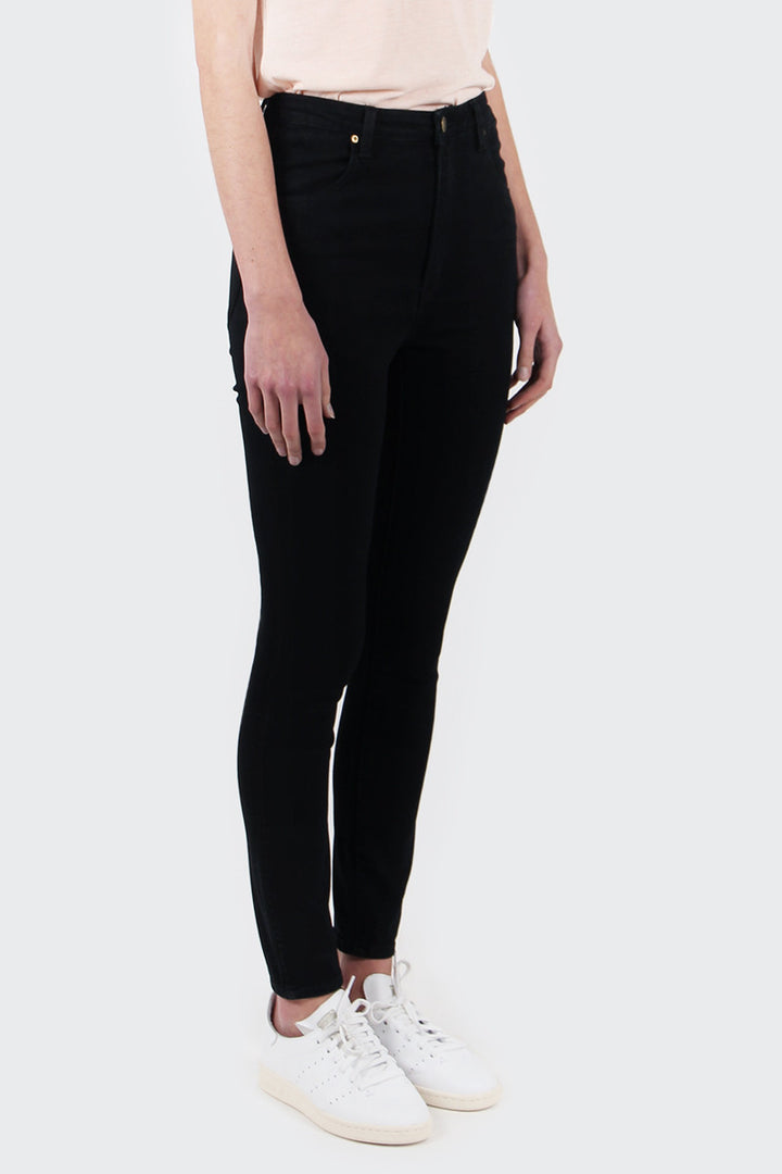 Rollas Eastcoast Ankle Jeans - black rain | GOOD AS GOLD | NZ