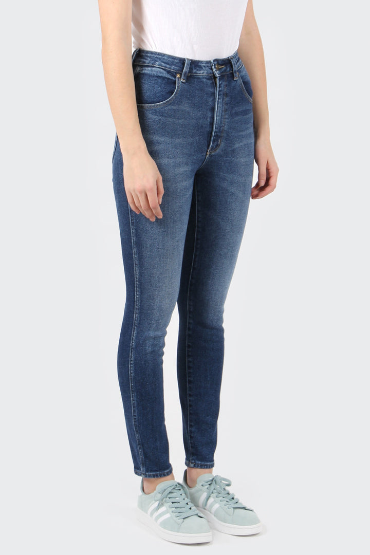 Rollas Eastcoast Ankle Jeans - worn indigo | GOOD AS GOLD | NZ