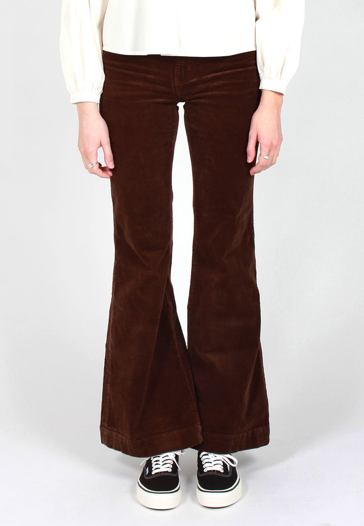 Eastcoast Flare Jeans - brown cord