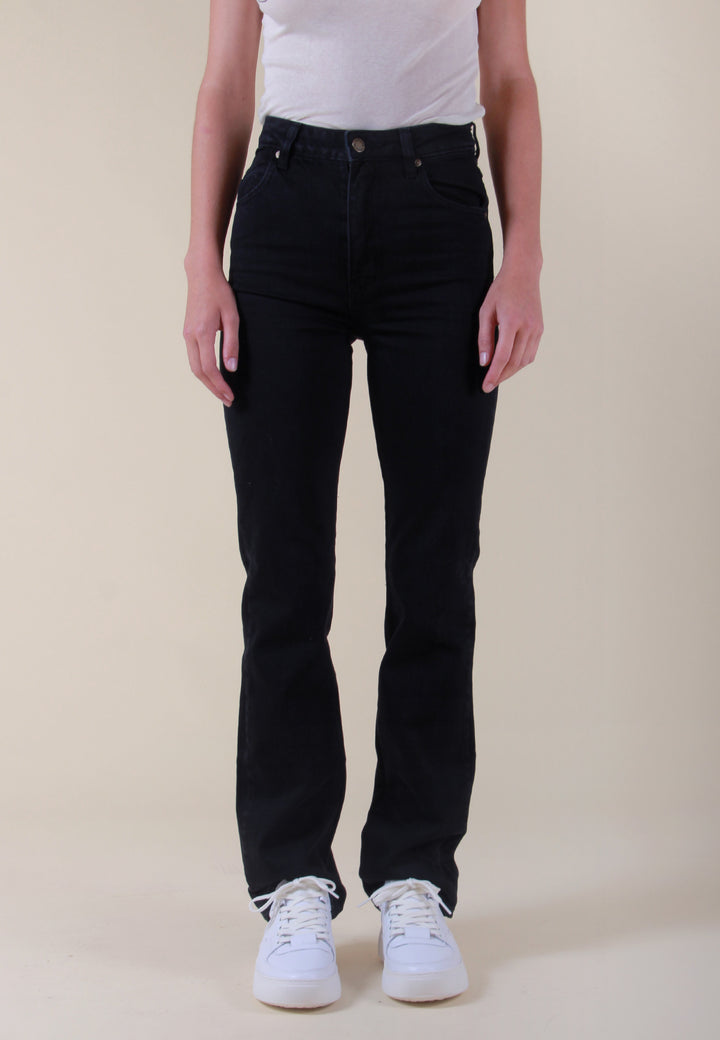 Original Straight Long Jeans - comfort jet black