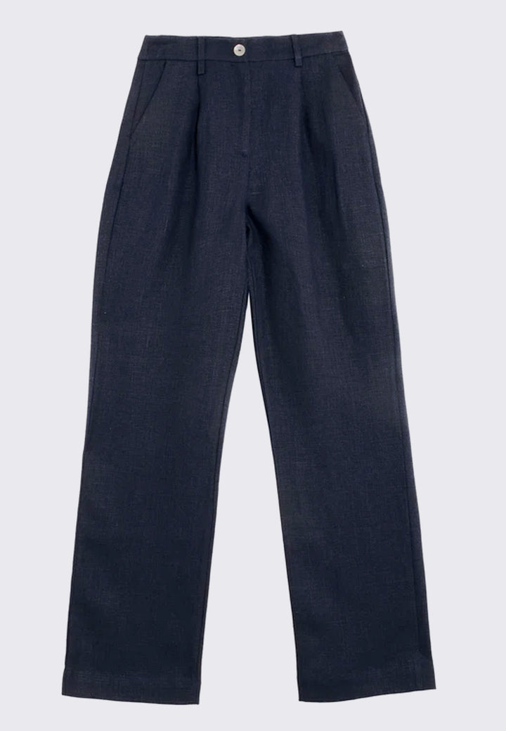 Shanghai Pants - dark navy