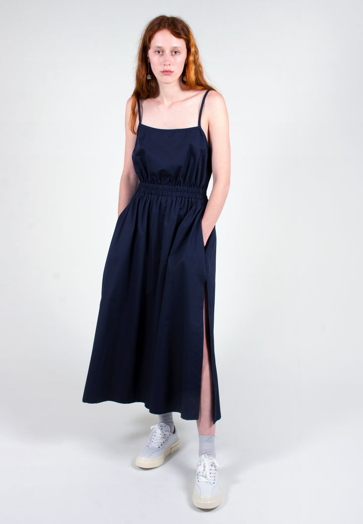 Slowlane | Ashlee Dress - navy | Good As Gold, NZ