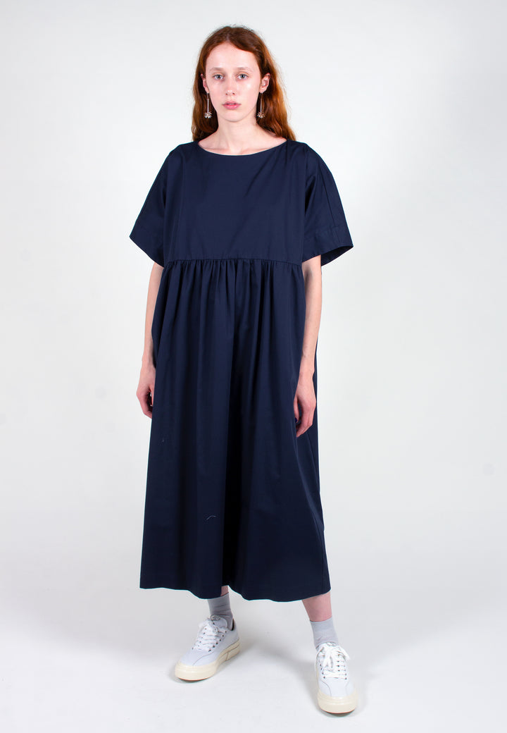 Slowlane | Hannah Dress - navy | Good As Gold, NZ