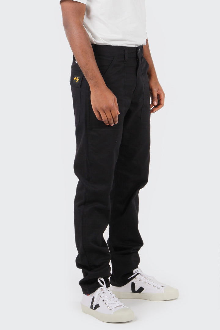 Stan Ray Slim Fit 4 Pocket Fatigue Pant - black twill | GOOD AS GOLD | NZ