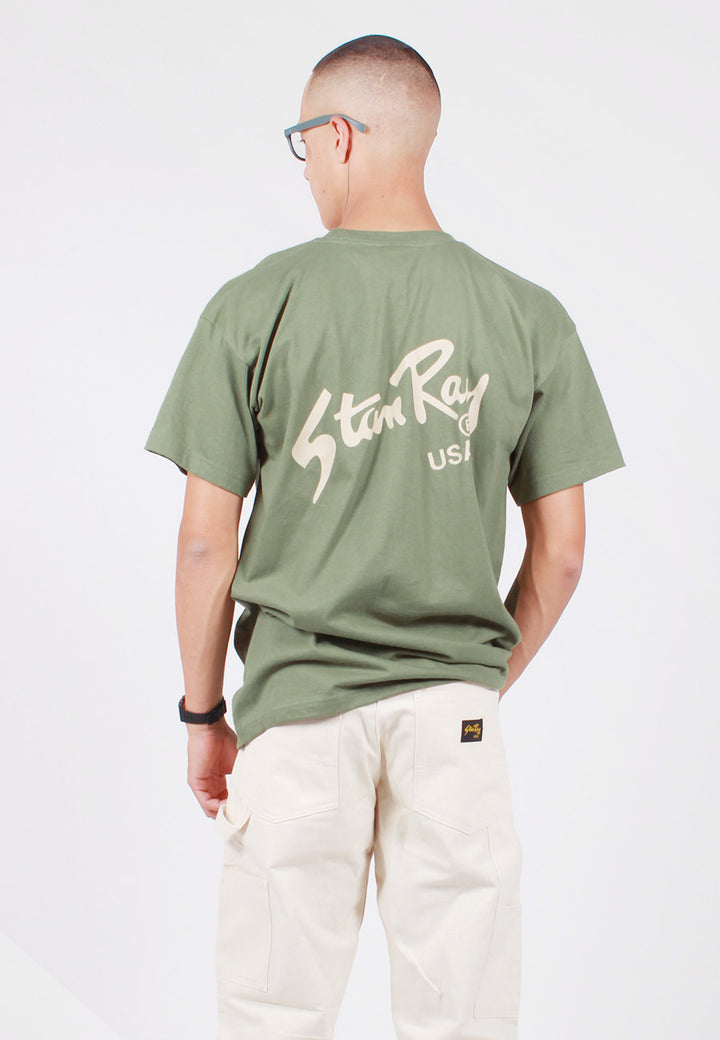 Stan Ray Stan Tee - Military Green — Good as Gold