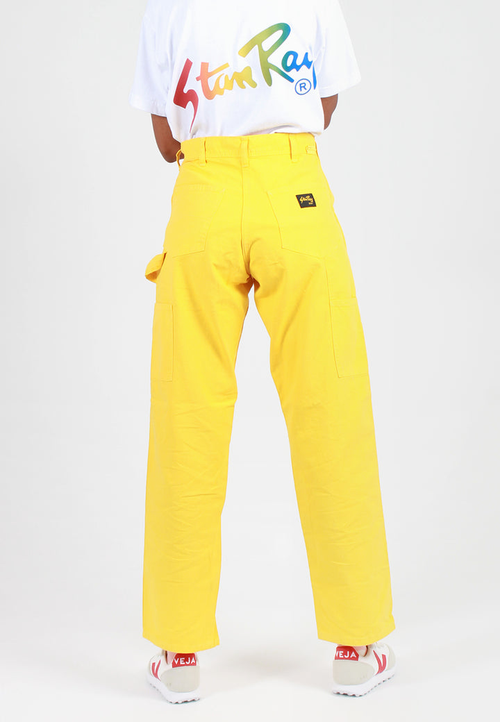 Painter Pant Overdye - book yellow