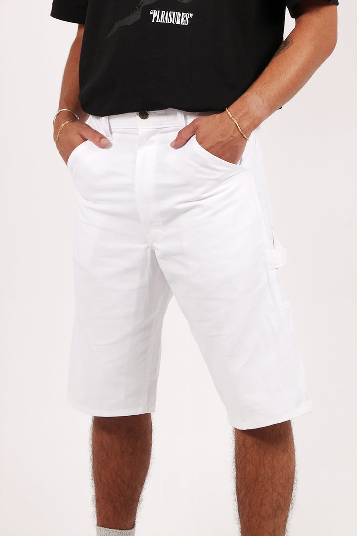 Stan Ray Painters Shorts - white | GOOD AS GOLD | NZ
