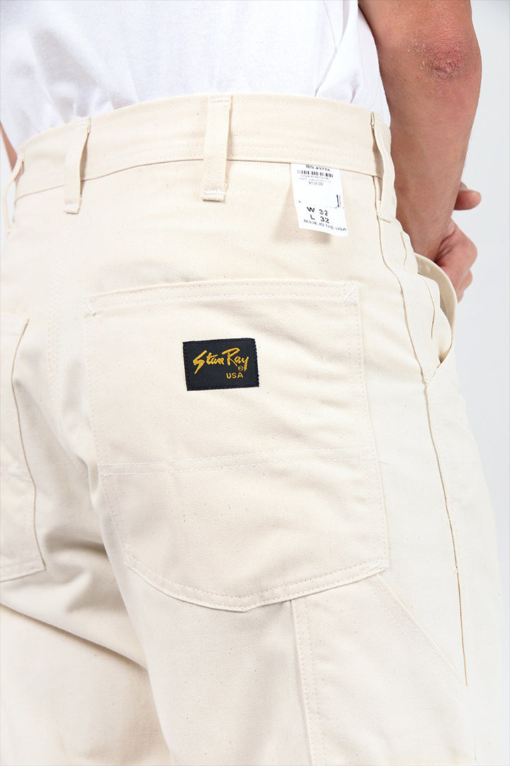 Stan Ray Single Knee Painter Pant - natural drill | GOOD AS GOLD | NZ